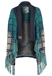 Superdry Cardigan Teal Petrol