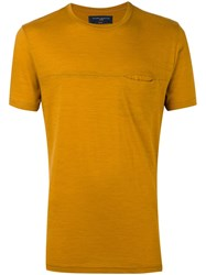 Natural Selection 'Kobe Ramo Oak' T Shirt Yellow And Orange