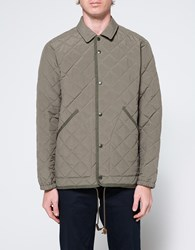 The Hill Side Quilted Ueno Jacket Sage Green