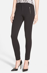 Cupcakes And Cashmere 'Roosevelt' Ponte Leggings Nordstrom Exclusive Black