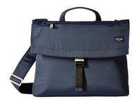 Jack Spade Tech Travel Nylon Folded Messenger Navy Messenger Bags
