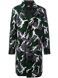Ktz Camouflage 'Towelling' Coat Green
