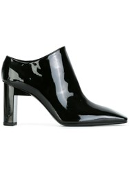 Alyx Square Toe Varnished Booties Black
