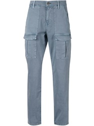Paige 'Craft' Cargo Trousers Blue
