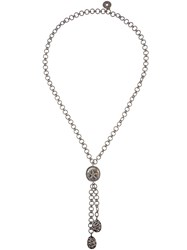 Carole Shashona 'Starfish' Diamond Lariat Necklace Metallic