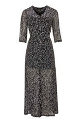 Karley Black And White Spot Dress By Goldie