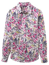 Joules Lucie Ditsy Floral Print Shirt Cream Scatter