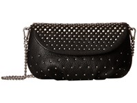 Marc By Marc Jacobs New Q Degrade Studs Small Leather Goods Karlie Black Cross Body Handbags