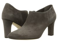 Via Spiga Padma Steel Kid Suede Leather Women's Boots Gray