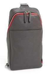 Ben Minkoff 'Raleigh' Leather Sling Backpack New Grey