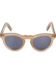 Cutler And Gross '0734' Sunglasses Nude And Neutrals