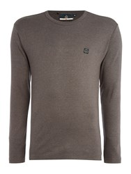 Duck And Cover Stock Long Sleeve Jersey Charcoal