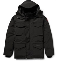 Canada Goose Constable Shell Down Parka Black