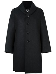 Comme Des Garcons Junya Watanabe Single Breasted Coat Black
