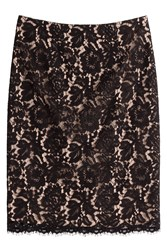 Paule Ka Lace Skirt Black