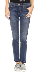Current Elliott The Cropped Straight Leg Jeans Loved