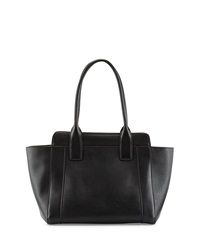 Charles Jourdan Fuller Leather Tote Bag Black