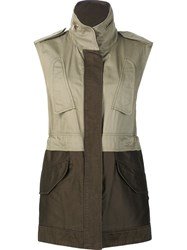 Rag And Bone 'Kinsley' Gilet Green