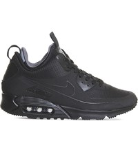 Nike Air Max 90 Mid Winter Trainers Black Black