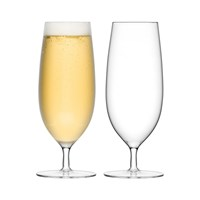 Lsa International Bar Pilsner Glass Set Of 2