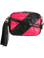 Sonia Rykiel Quilted Camera Bag Black