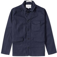 Norse Projects Heine Jacket Blue