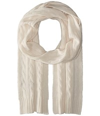 Polo Ralph Lauren Cashmere Classic Cable Scarf Heritage Cream Scarves Bone