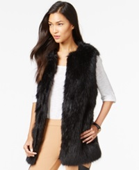 Bar Iii Long Faux Fur Vest Only At Macy's
