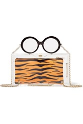 Charlotte Olympia Apfel Perspex Clutch