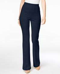 Inc International Concepts Pull On Bootcut Pants Only At Macy's Deep Twilight