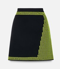 Christopher Kane Hotfix Mini Skirt Black