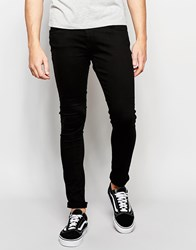 Blend Of America Blend Jeans Lunar Super Skinny Fit Black Black