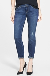 Kut From The Kloth 'Catherine' Distressed Slim Boyfriend Jeans Extensive