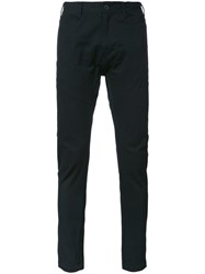 Julius Super Skinny Trousers Black