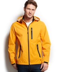 Hawke And Co. Outfitter Waterproof Hipster Hooded Jacket Radiant Yellow