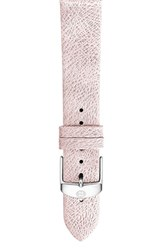 Women's Michele 16Mm Leather Watch Band