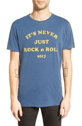 Men's Obey 'It's Never Just Rock N Roll' Graphic T Shirt