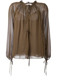 Dorothee Schumacher 'Airy Affairs' Blouse Brown