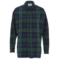 Essentiel Antwerp Women's Flannel Lace Shirt Green