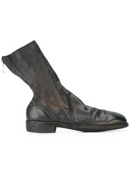 Guidi Zip Up Boots Black