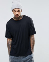 Asos Loungewear Oversized T Shirt In Lightweight Fabric Black