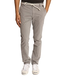 Eleven Paris Charlie Chinos With Grey Cord Belt