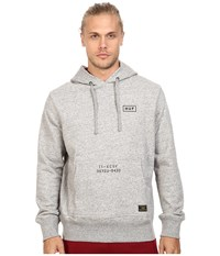 Huf Standard Issue Pullover Hoodie Grey Heather Men's Sweatshirt Gray