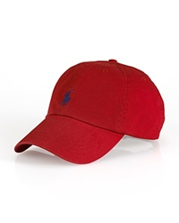 Polo Ralph Lauren Signature Pony Hat Flame Red