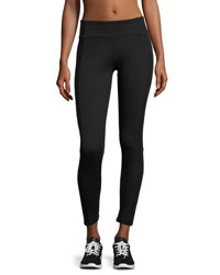 The Balance Collection Mesh Panel Leggings Black 001