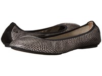 Hush Puppies Chaste Ballet Taupe Multi Leather Women's Flat Shoes Brown