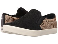 Gola Orchid Safari Slip Black Gold Dot Women's Shoes