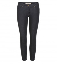 Burberry Cropped Slim Fit Jeans Blue