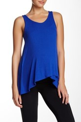 Electric Yoga Loose Tank Blue