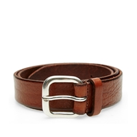 Andersons Anderson's Burnished Leather Belt Mahogany